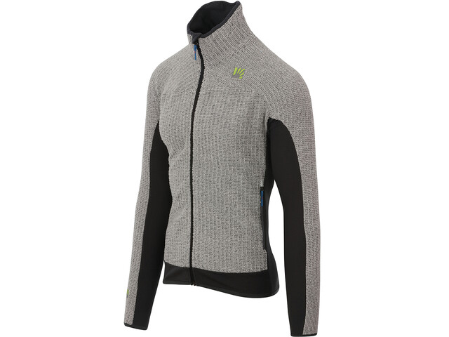 Karpos Rocchetta Fleecejacke Herren light grey/dark grey